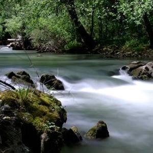 Río Ebro. Desfiladero de la Horadada